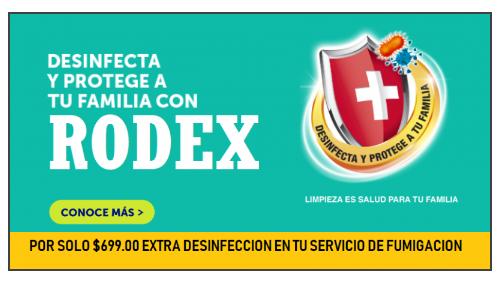 Rodex México sanitización CDMX